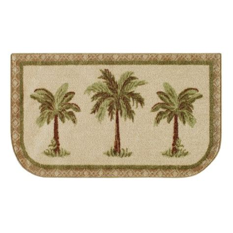 Palm Tree Bathroom Rugs Mainstays Palm Tree Rug Multi Color Walmart