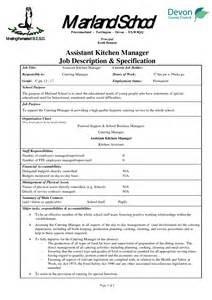Kitchen Manager Description by 50 Culinary Arts Resume Sle Resume Objective