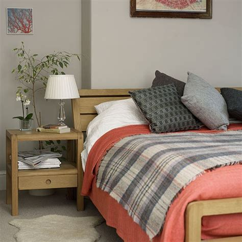 coral and grey bedroom bedroom decorating housetohome