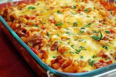 chili cheese bake chili cheese macaroni casserole casseroles