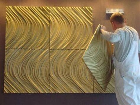 decorative  wall panels adding dimension  empty walls