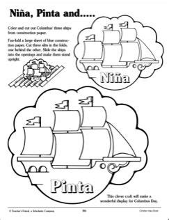 coloring pages of the nina pinta and santa maria 17 best images about colon on pinterest clip art