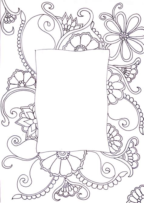 doodle flower border doodle flower border www imgkid the image kid has it