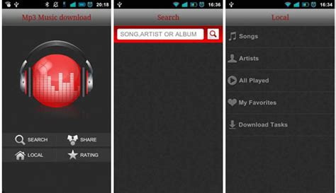 best free music downloader apps for android download mp3