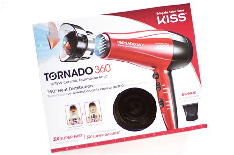 Hair Dryer Tornado thenotice tornado 360 ceramic tourmaline ionic