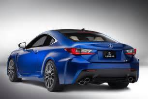 2015 Lexus Coupe 2015 Lexus Rc F Coupe Announced Modified