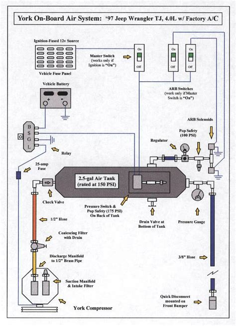 york ac wiring diagram