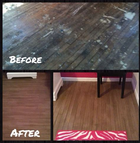 painted woodwork before and after painted wood floors before after painted floors