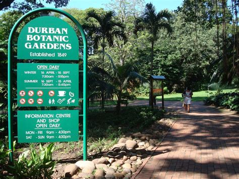 Durban Botanic Gardens Panoramio Photo Of Durban Botanic Gardens