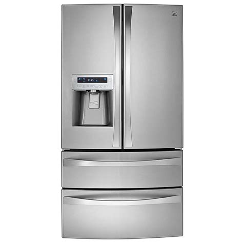 Kenmore Door Bottom Freezer by Kenmore Elite 72183 31 0 Cu Ft Dual Freezer
