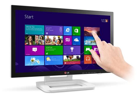 Touch On L by Lg Also Has A Touch Monitor For Windows 8 Flatpanelshd
