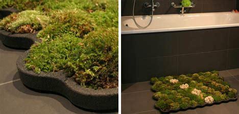 Live Moss Bath Mat by Green Bathroom Rug A Mat Made From Real Moss