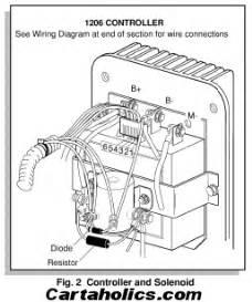 cartaholics golf cart forum gt e z go wiring diagram electric