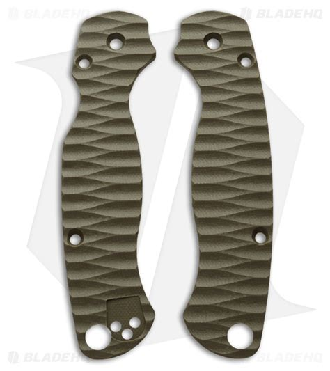 spyderco paramilitary 2 replacement scales spyderco paramilitary 2 custom g10 replacement scales by