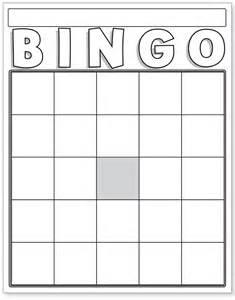 Blank Bingo Template Pdf by Bingo Blank Template Bestsellerbookdb