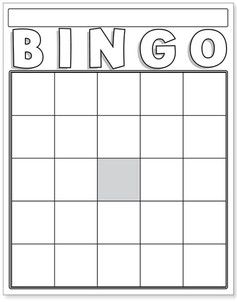 bingo card template doc blank 4 x 4 bingo pictures to pin on pinsdaddy