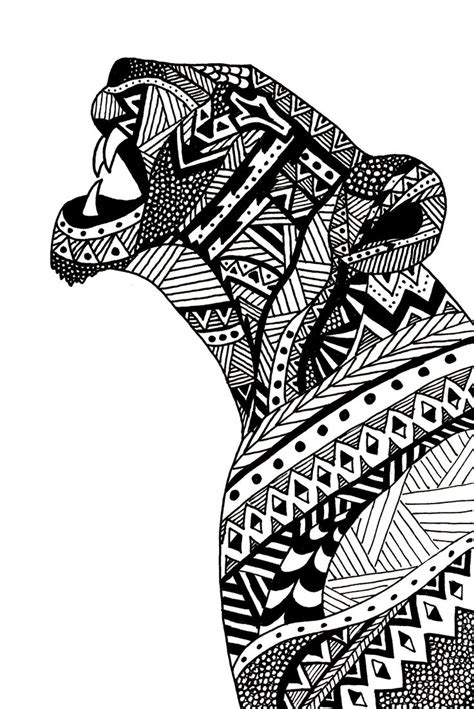 zentangle lion zentangle spiratie pinterest agathe altwegg lioness illustration dentro da selva