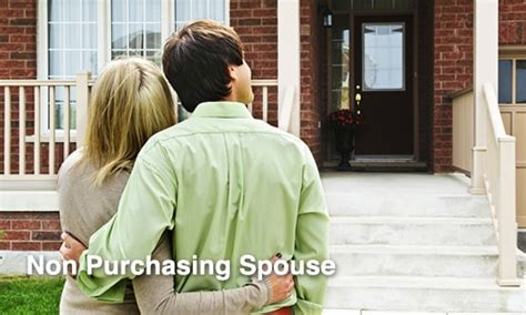 Mortgagee Letter Non Borrowing Spouse Non Purchasing Spouse Fha For Non Borrowing Spouse