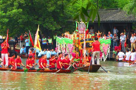 dragon boat festival hangzhou dragon boat festival xixi wetlands hangzhou china