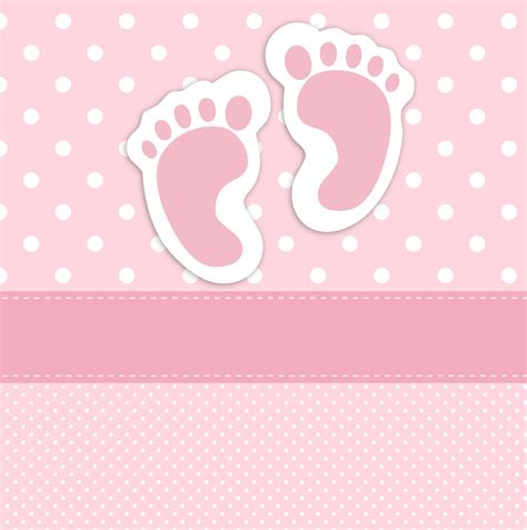 baby name card template 婴儿的脚印卡模板图片