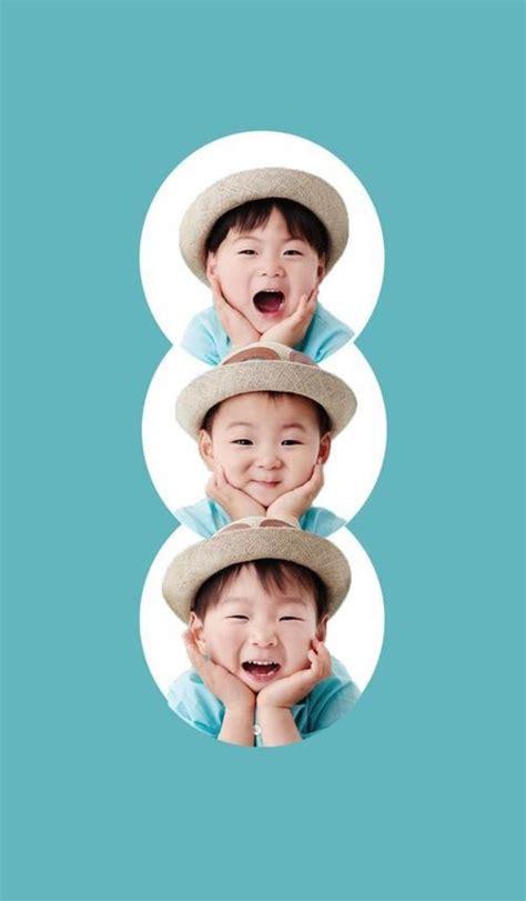 pin oleh mcdullry mc  daehanmingukmanse wallpaper foto anak lucu kembar anak lucu