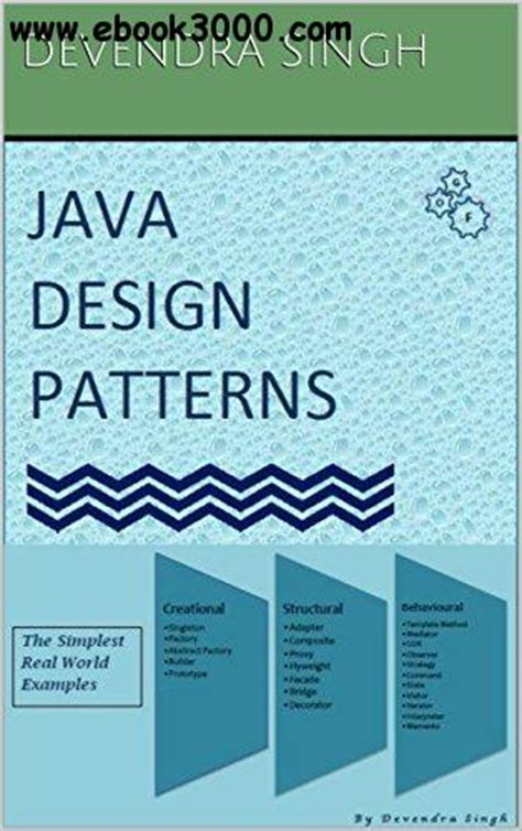 java pattern download java design patterns free ebooks download