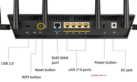 Asus Routers asus rt ac88u router how to reset to factory defaults