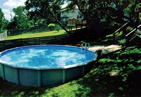 pools in backyard above ground pool in sloped backyard swimming pool ideas
