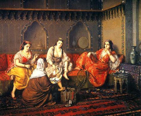 the ottoman harem file swoboda shopping in harem mid19th jpg wikimedia commons