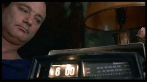 groundhog day alarm clock gif chocolate for your brain july 2014
