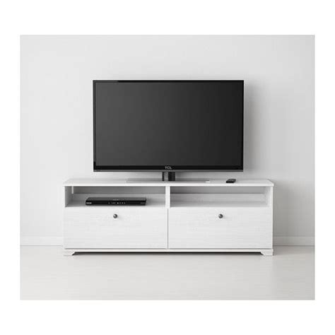 white tv bench borgsj 214 tv bench with drawers white