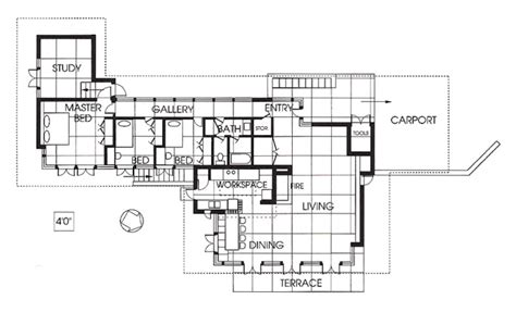 frank lloyd wright usonian floor plans related image unsonian pinterest frank lloyd wright