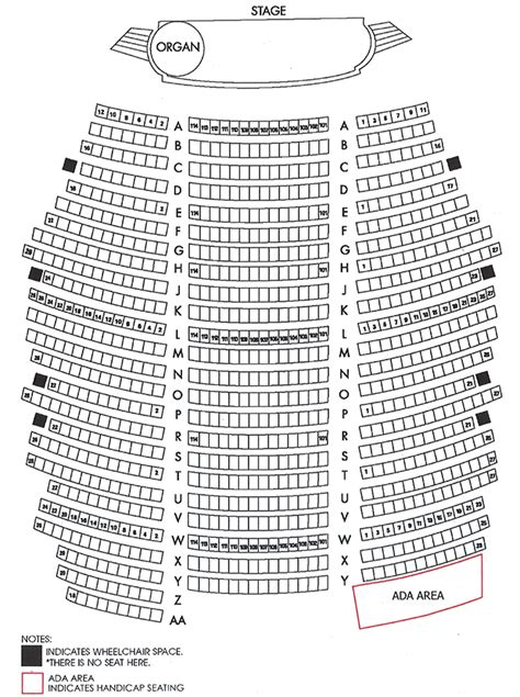 alabama theater seating chart myrtle seating at the alabama theatre alabamatheatre