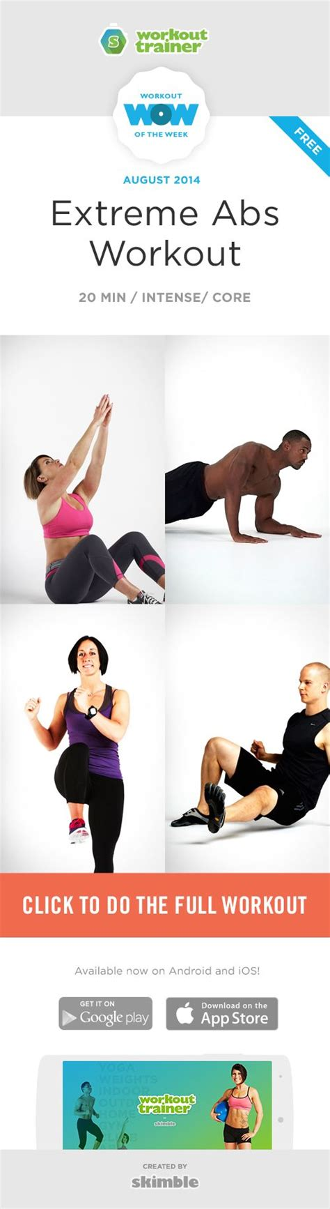 17 best ideas about ab workout on killer abs dumbbell leg workout and