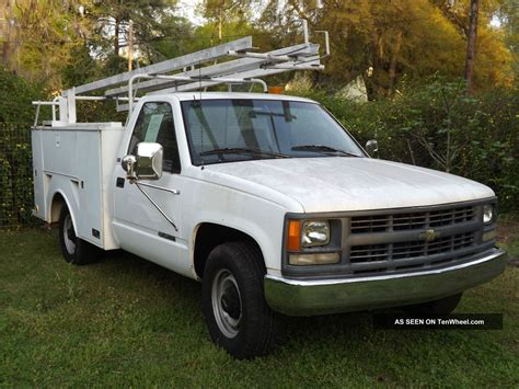 1996 chevy utility truck