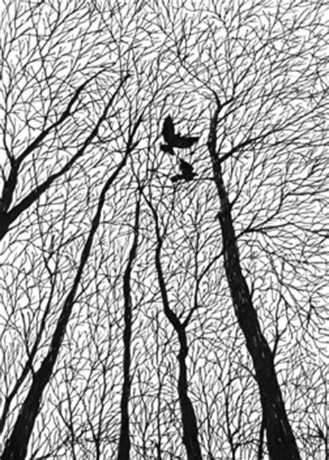 black and white ink patterns tree pattern gif 252 215 353 pixels designs pinterest