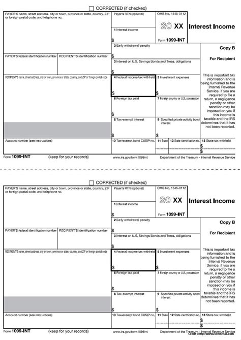 Free Printable 1099 Misc Tax Forms Form Resume Exles Ymamj5xgd9 1099 Misc Template For Preprinted Forms
