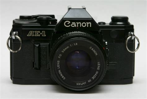 recommended film for canon ae 1 file canon ae 1 front with 50mm lens jpg wikipedia