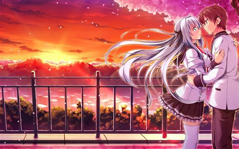 hd wallpaper of anime couple romance anime love couple kissing images hd pixhome