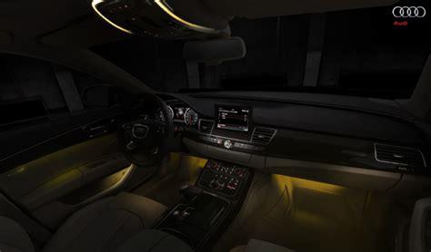 how make cars 2003 audi a8 interior lighting 2012 audi a8 headlights and interior lighting lights and lights