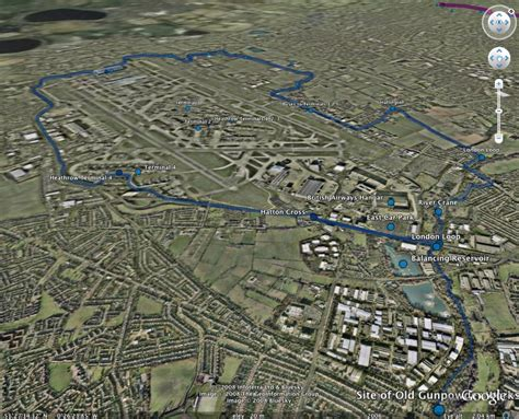 birds eye view of my house google earth a bird s eye view of my tubewalk around heathrow airport on the piccadilly line a