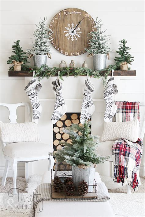 style at home christmas decorating ideas thrifty and chic diy projects and home decor