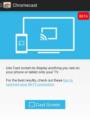 chromecast adds support for android screen mirroring