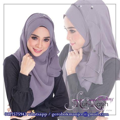 Instan Nabila by Shawl Instant Nabila Nurkasih Saiz M Manjer De Closet