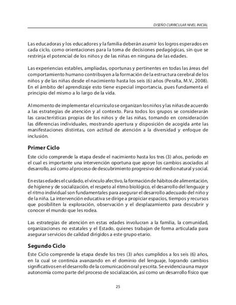 Diseño Curricular Dominicano 2014 81 Curriculo Inicial Ministerio De Educacion Republica Estructura Diseno Curricular Nivel