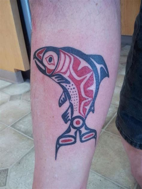 salmon tattoo 17 best ideas about salmon on haida