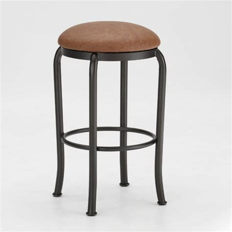Backless Swivel Counter Stools by Sanford 26 Quot Backless Swivel Counter Stool Modern Bar