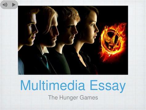 theme essay hunger games the hunger games multimedia essay outline presentation