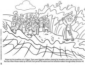 moses parting the sea coloring sheet pony bead cross craft and free coloring sheet downloads
