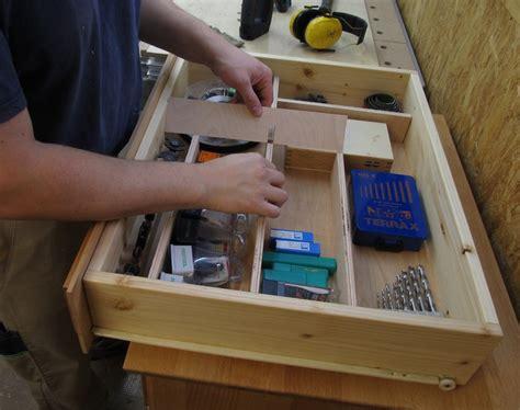 fertige schubladen werkbank schubladen selber bauen grafffit